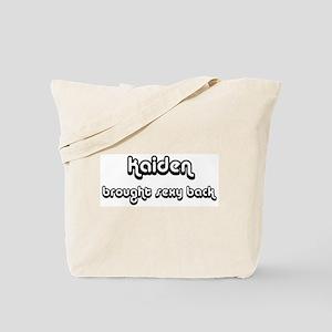 Sexy: Kaiden Tote Bag