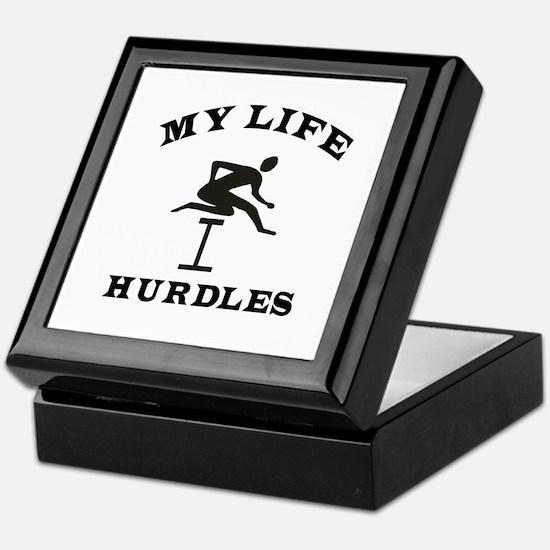 My Life Hurdles Keepsake Box