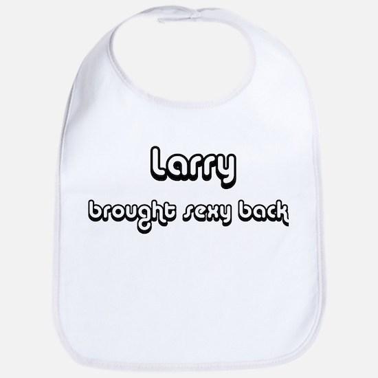 Sexy: Larry Bib