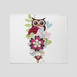 Love Letter Throw Blanket