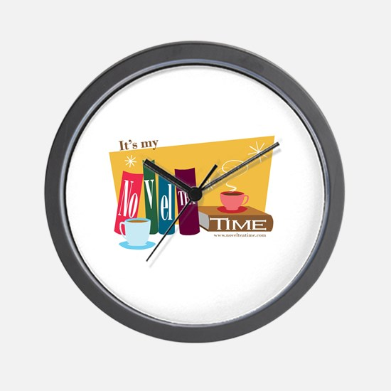NovelTEA Time Wall Clock
