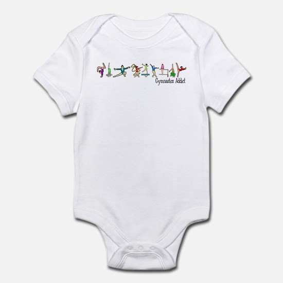 Gymnastics Addict Infant Bodysuit