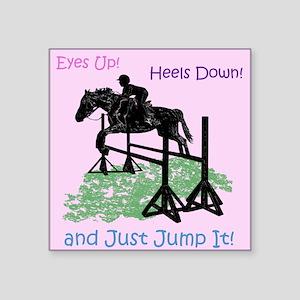 Fun Hunter/Jumper Equestrian Horse Sticker