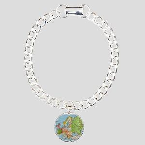 Map of Europe Bracelet