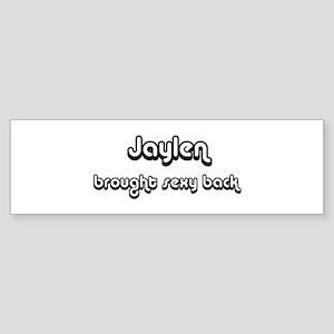 Sexy: Jaylen Bumper Sticker