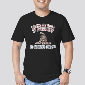 Protect Our 2nd Fitted Dark T-Shirt