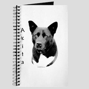 Akita Charcoal Journal