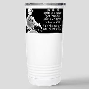Loyalty To Petrified Opinions - Twain Mugs