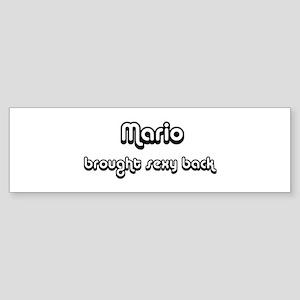 Sexy: Mario Bumper Sticker