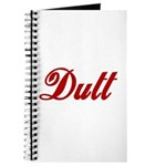 Dutt Journal