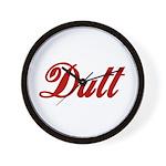 Dutt Wall Clock