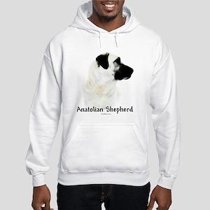Anatolian Charcoal Hooded Sweatshirt