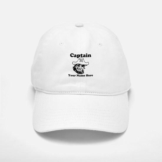 Custom Captain Pirate Baseball Baseball Baseball Cap