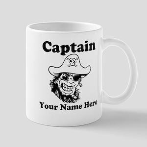 Custom Captain Pirate Mug