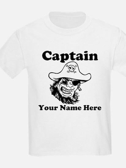 Custom Captain Pirate T-Shirt