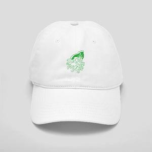 Green Ghost Pirate Baseball Cap