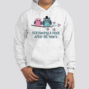 65th Anniversary Owls Hooded Sweatshirt