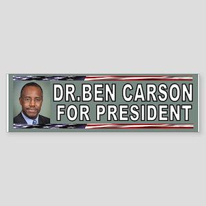 DR.CARSON BUMPER Bumper Sticker