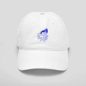 Blue Ghost Pirate Baseball Cap