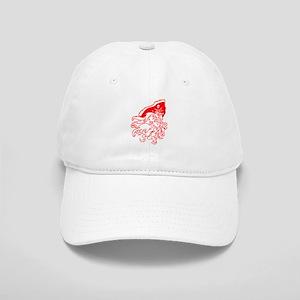 Red Ghost Pirate Baseball Cap