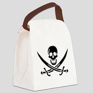 Calico Jack Symbol Canvas Lunch Bag