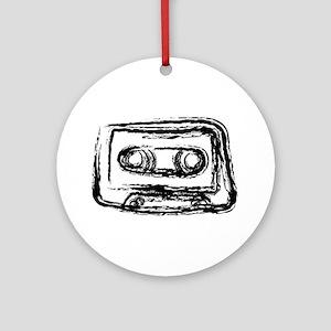 Mixtape Ornament (Round)