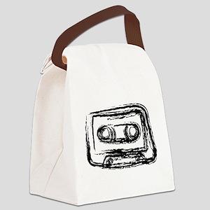 Mixtape Canvas Lunch Bag
