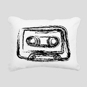 Mixtape Rectangular Canvas Pillow