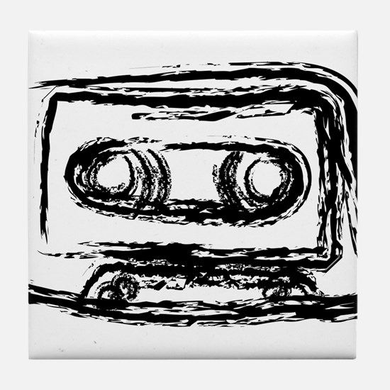 Mixtape Tile Coaster