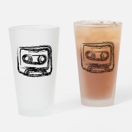 Mixtape Drinking Glass