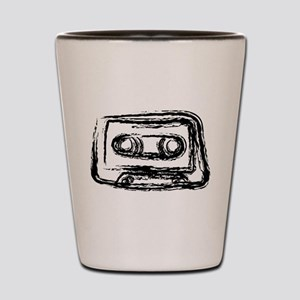 Mixtape Shot Glass