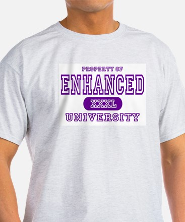 Enhanced University Ash Grey T-Shirt