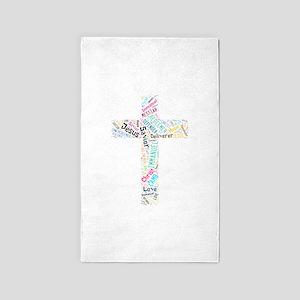 Names of Jesus 3'x5' Area Rug