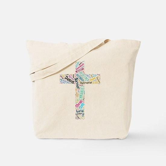 Names of Jesus Tote Bag