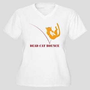 Dead Cat Bounce Plus Size T-Shirt