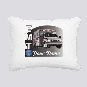 Custom Personalized EMT Rectangular Canvas Pillow