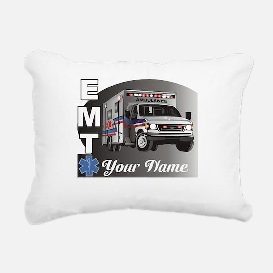 Custom Personalized EMT Rectangular Canvas Pillow