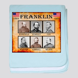Franklin - Union baby blanket