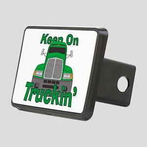 Keep On Truckin Rectangular Hitch Cover
