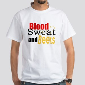 Blood, Sweet and Beers White T-Shirt