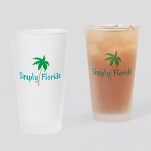 Simply Florida Drinking Glass