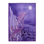 Lavender Mermaid 5'x7'Area Rug