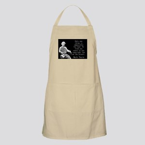 Only One Thing Is Impossible - Twain Light Apron