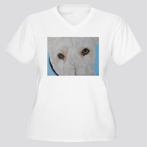 Scottie Wheaten pretty eyes Plus Size T-Shirt