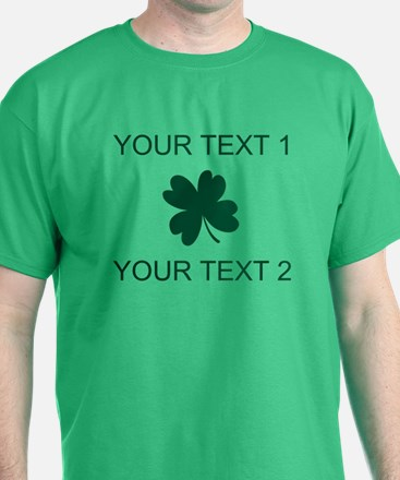 Custom Funny Shamrock T-Shirt