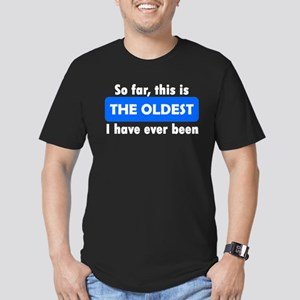 The Oldest Men's Fitted T-Shirt (dark)
