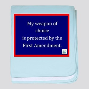 Ist Amendment Protection baby blanket