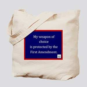 Ist Amendment Protection Tote Bag
