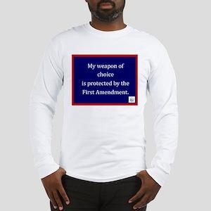 Ist Amendment Protection Long Sleeve T-Shirt