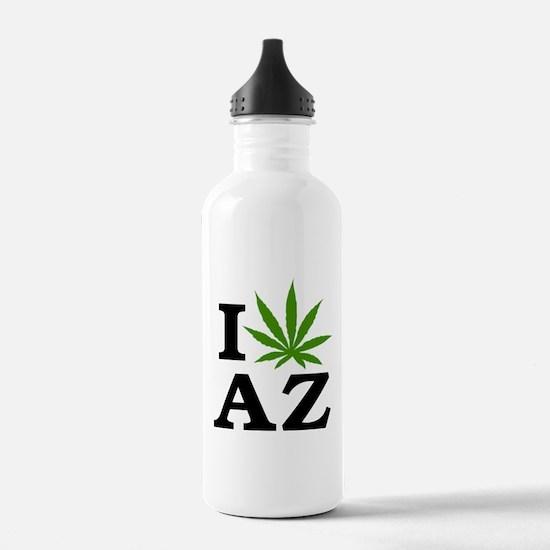 I Love Cannabis Arizona Water Bottle